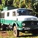 mit diesem alten Mercedes-Gelände-Truck fuhren wir vom Kilimanjaro-Airport zum Hotel © Moni