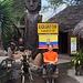 240m nördlich vom Äquatoronument La Mitad del Mundo verläuft durch das Museo Inti-ñan der echte Äquator.