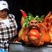 Otavalo (2573m): Hunger leiden muss in der Kleinstadt 110km nördlich von Quito sicherlich niemand :-)
