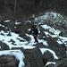 Put im Aufstieg durch den Felssturz.