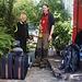 Da in den folgenden Tagen nicht mehr in Quito übernachteten, nahmen wir unser ganzes Gepäck mit. Unterwegs nach El Chaupi bestiegen wir Guaga Pichincha.