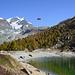 Seilbahn Gant-Hohtälli im Probebetrieb für die anstehende Skisaison