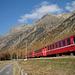Rhätische Bahn im Val Bever