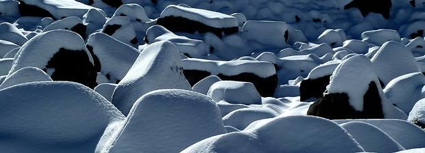 Schneeblock-Panorama