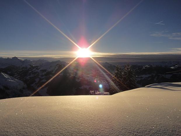 ...ein schöner Sonnenuntergang zum Abschluss... doch das ist noch nicht alles...