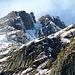 Die auffälligen Felszacken oberhalb des Sajatkars.