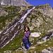 .Azzurra .... e la cascata