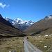 das letzte steilere Stück zur Alp la Stretta