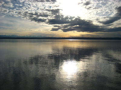 hier war der Bodensee noch ruhig, es sollte aber bald anders werden.