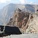 Der gut markierte Pfad verläuft meist direkt an der Klippe des Grand Canyon.
