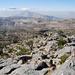 Blick zurück auf das Jabal Shams Plateau.