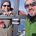 sniks und Freeman am Gipfelkreuz