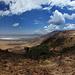 Blick in den Ngorongoro-Krater von Westen gesehen