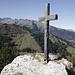 Gipfelkreuz auf dem Pizalun