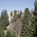 Pizalun, Gipfelkreuz und Aussichtsplattform